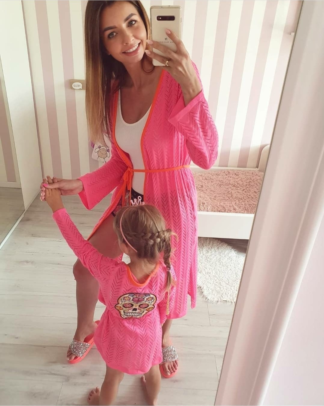 Cover Up with a Pink skull – Kids