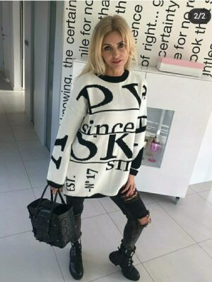 Sweter Paris White
