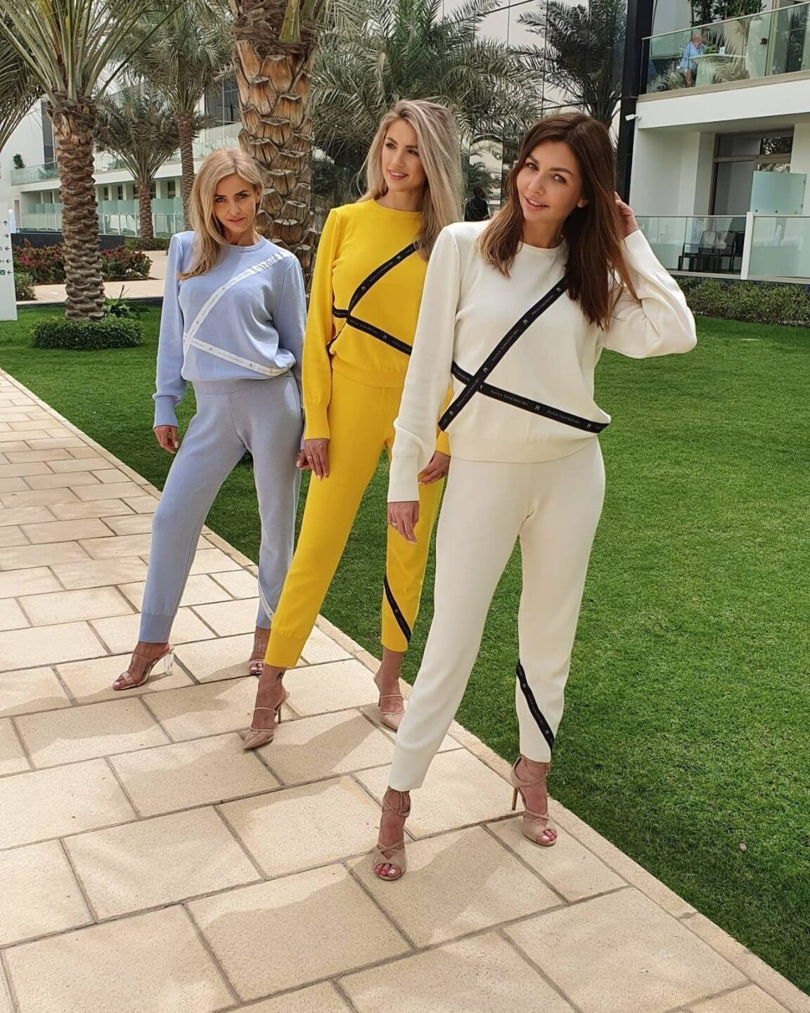 Knitted tracksuits