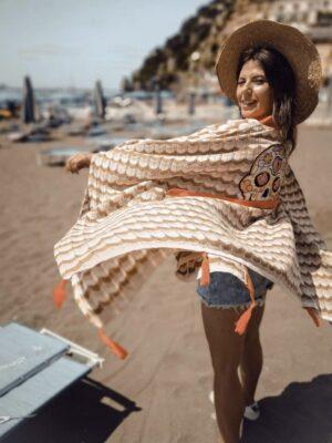 Kimono – narzutka Beż