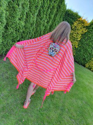 Kimono – narzutka Róż