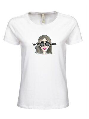 Damski T-shirt   Lady D