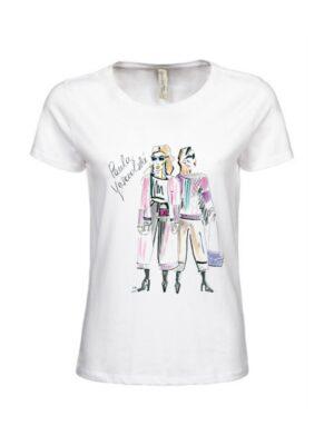 Damski T-shirt   Street Style